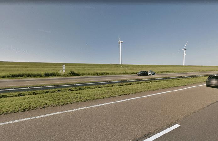 A6 tussen Urk en Lelystad 's nachts afgesloten